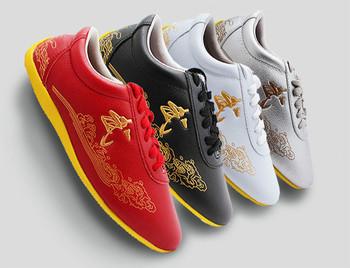 Buty sztuk walki Taichi Taiji Changquan Nanquan buty Kungfu dostaw chińskie tradycyjne buty Kungfu tanie i dobre opinie CN (pochodzenie) Dobrze pasuje do rozmiaru wybierz swój normalny rozmiar Mocne RUBBER