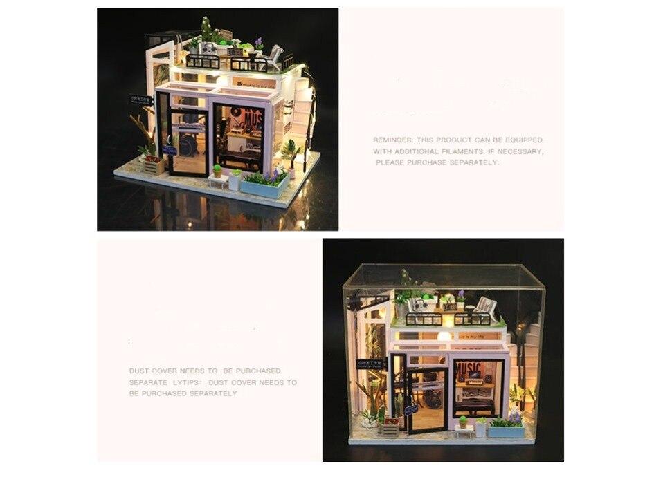 H4dd7e56842b04ae3b9824cbf5049d270v - Robotime - DIY Models, DIY Miniature Houses, 3d Wooden Puzzle