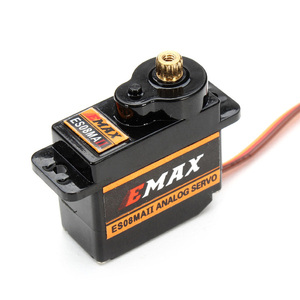 Image 3 - 4PCS EMAX ES08MAII 12g Mini Metal Gear Analog Servo for Rc Hobbies Car Boat Helicopter Airplane Rc Robot Spare Part