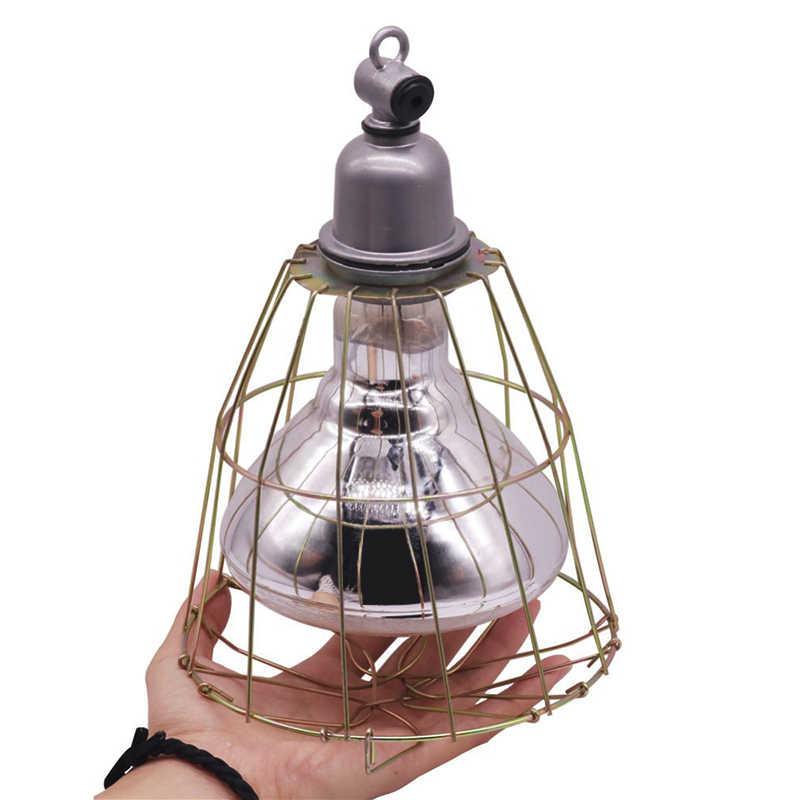 10 шт. проволока из нержавеющей стали абажур или керамическая изоляция E27 лампа