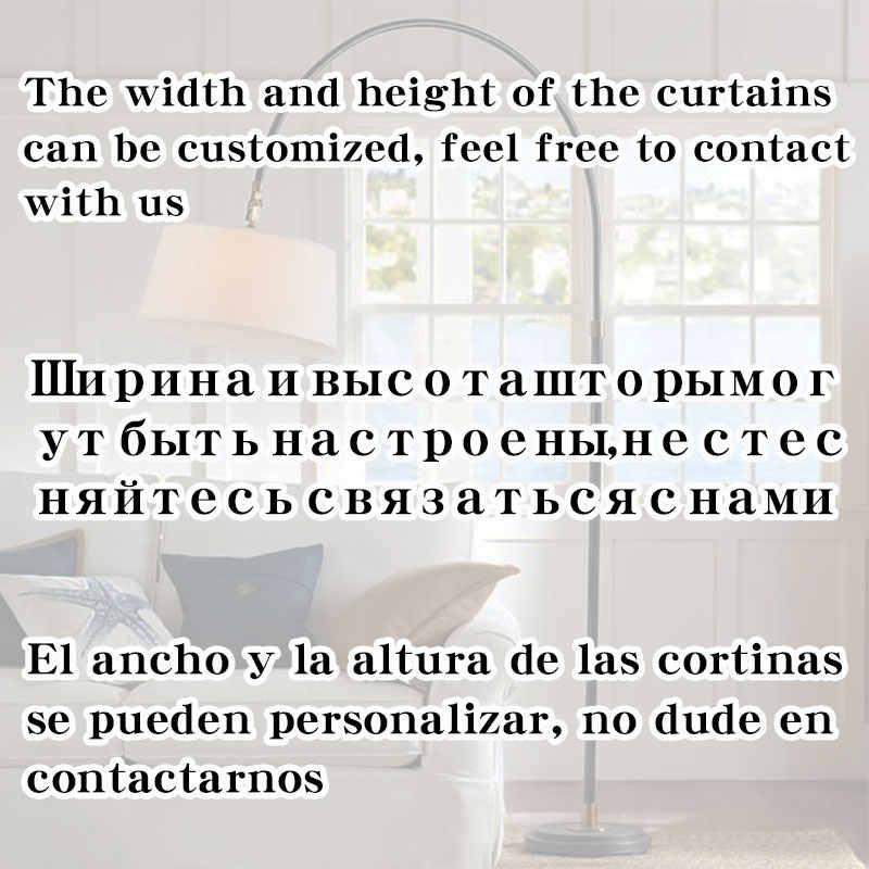 Tende oscuranti moderne per soggiorno tende da camera da letto per trattamento finestre tende tende oscuranti solide tende finite