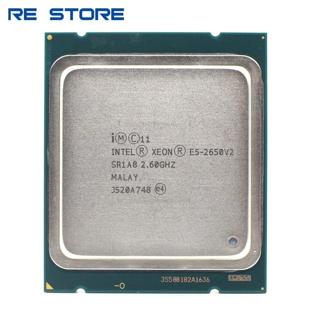 インテルxeon E5 2650 V2 プロセッサ 8 コア 2.6ghz 20 メートル 95 ワットSR1A8 cpu