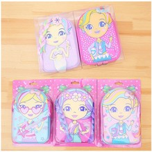 Children's Pencil Case Cartoon Cute Pattern Princess Stationery Box Zipper Pencil Pouch Bag High Capacity Clutch Student 2020