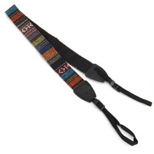 Universal Camera Neck Shoulder Wrist Strap Vintage Carrying Belt for Nikon Canon Sony Lumix OUJ99