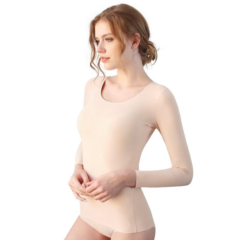 37 Degree Constant Temperature Super Elastic Ultrathin Heat-generating Healthy Sleep Female Cotton Thermal Underwear