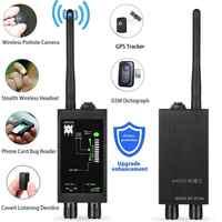 M8000 Spy Intercettazione Telefonica Gps Jammer GPS Del Telefono Delle Cellule della Macchina Fotografica Nascosta Senza Fili RF Signal Detector Finder di Intercettazione Telefonica Bug Mini