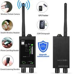M8000 Spy Wiretap Gps Jammer cámara inalámbrica oculta teléfono móvil GPS Detector de señal RF buscador de micrófonos Bug Mini