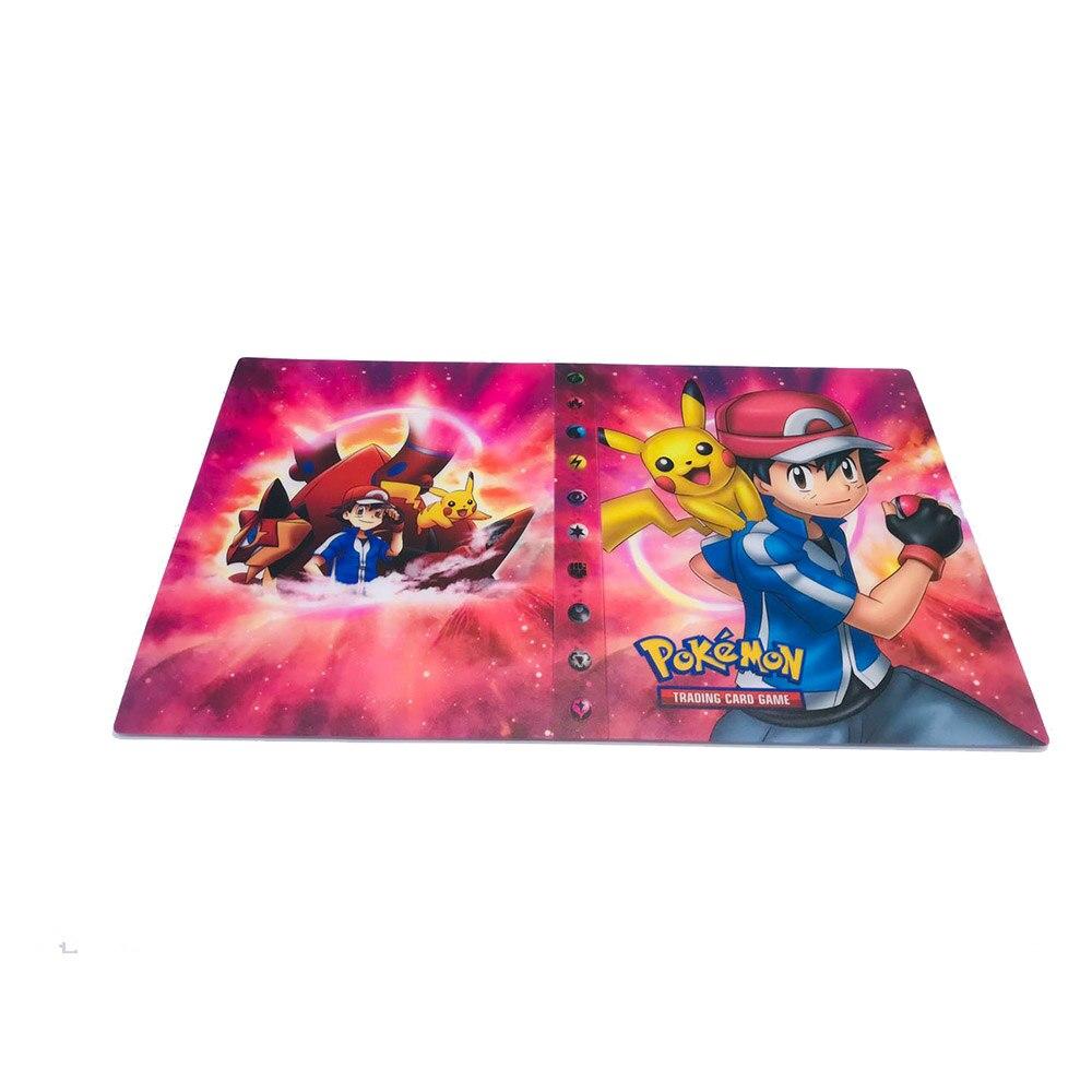 TAKARA TOMY держатель для карт с покемонами, альбом для игр Gx, коробка для карт с покемонами, 240 шт., держатель с покемонами, держатель для карт, Чехол для карт - Цвет: 2