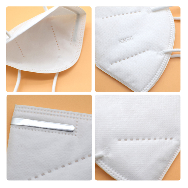 10pcs KN95 mask KN95 protective mask dust mask flu facial template ffp2 Pm2.5 mask 4