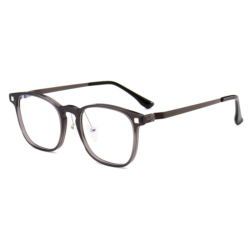Acetate Optical Glasses Frame Women Clear Square Myopia Eyeglasses Men Full Rim Prescription Eyewear Frames Spectacles Oculos