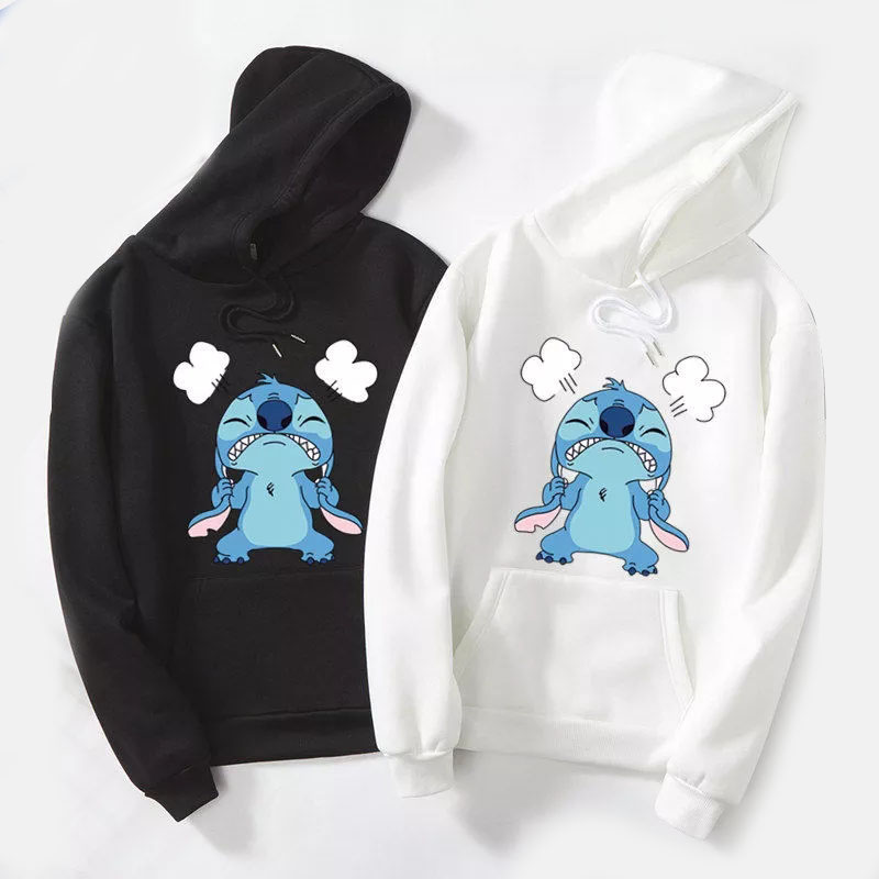 Permalink to Bonjean Autumn Thick Cartoon Loose Hoodies Sweatshirt Women Printed Casual Hooded  Pullover Female Thicken Coat