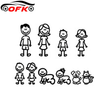 Car-Stickers Styling-Decals Family-Covering The-Body PVC Creativity Personality Interesting
