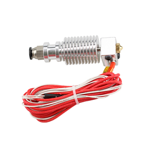 Image 3 - 3D Printer J head Hotend with Single Cooling Fan for 1.75mm/3.0mm 3D v6 bowden Filament Wade Extruder 0.2mm/0.3mm/0.4mm Nozzle