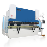 160t High reflective cnc hydraulic stainless bending machine