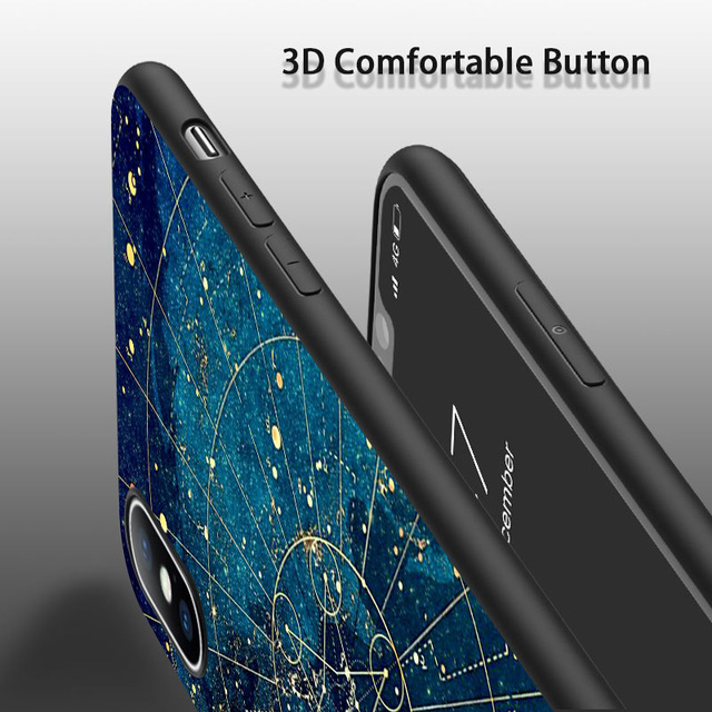 Space Print Phone Cases For iPhone X, iPhone 11 and other