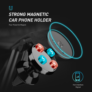 Image 2 - FLOVEME Magnetic Car Phone Holder For Samsung Galaxy S10 Note 9 8 Air Vent Mount Magnet Phone Holder For iPhone 11/11 Pro Max XR