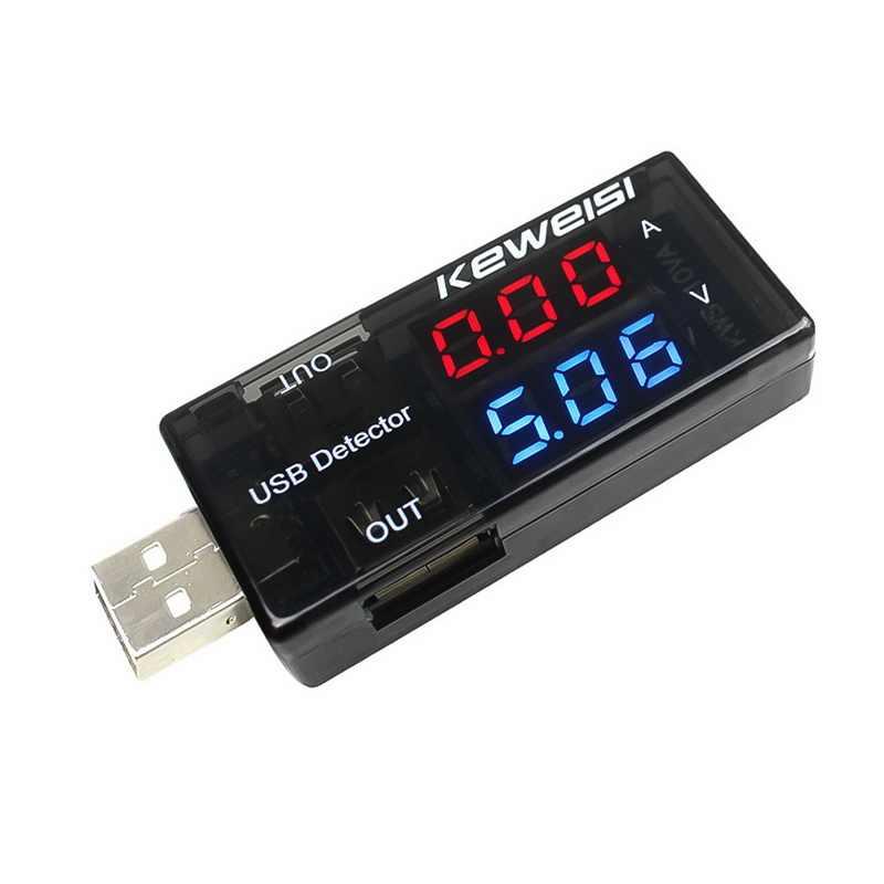 LCD هاتف مصغر USB تستر الجهد الحالي متر المحمولة طبيب المحمول شاحن الطاقة قدرة الكاشف رصد الفولتميتر مقياس التيار الكهربائي