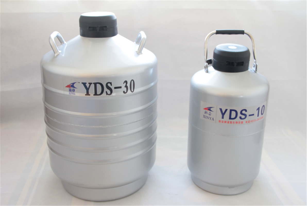 3/6/10/15/30L Liquid Nitrogen Container Cryogenic Tank Dewar Liquid Nitrogen Container With Liquid Nitrogen Tank YDS-10