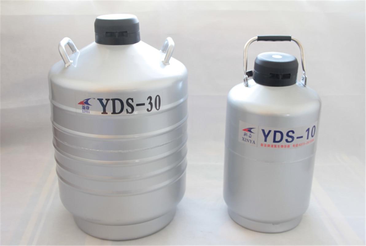 3/6/10/15/30L Liquid nitrogen container Cryogenic Tank dewar liquid nitrogen container with Liquid Nitrogen tank YDS-10