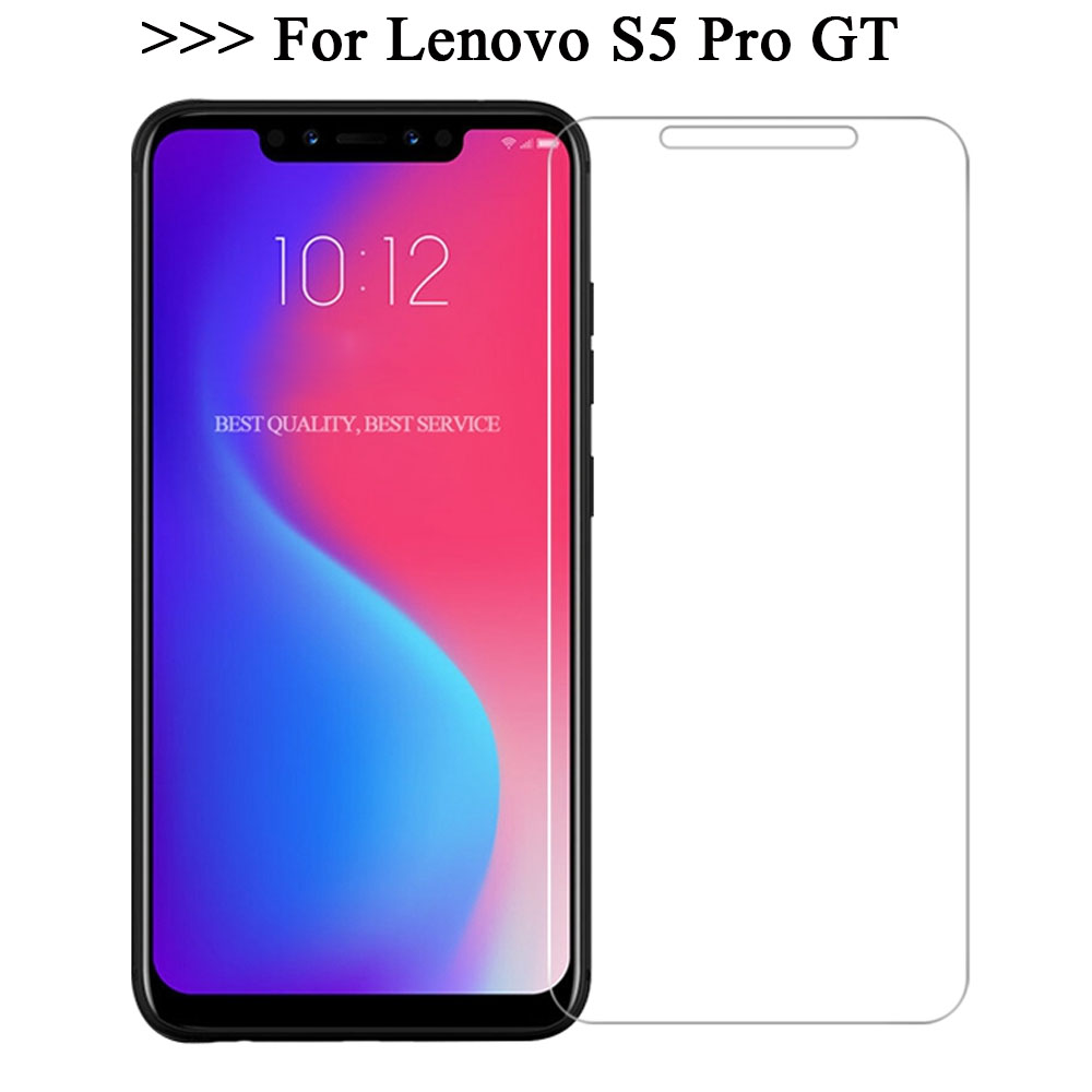 Tempered For Lenovo S5 PRO Premium 9H 2.5D Explosion-Proof Phone Screen Protector Film Lenovo S5PRO Mobile Phone Clear Glass