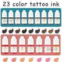 8 مللي صبغة لرسم الحاجبين بتقنية الميكرو بليدنج شبه تجميل دائم الوشم الحبر الأسود الحاجب الشفاه كحل اللون pigmentos للوشم الفن الإكسسوار