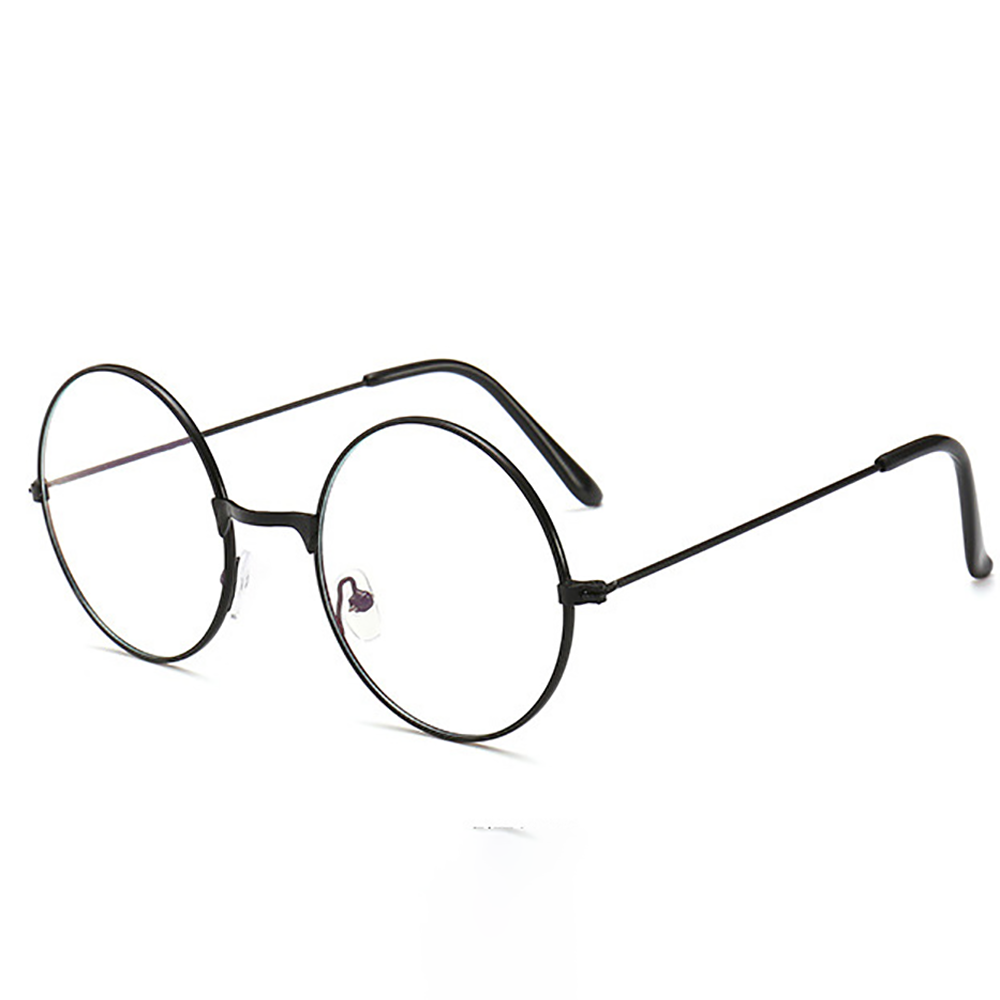Retro Round Frame Anti-blue Radiation Glasses Ultralight Men Women Fashion Blue Light Blocking Glasses Eyewear Students