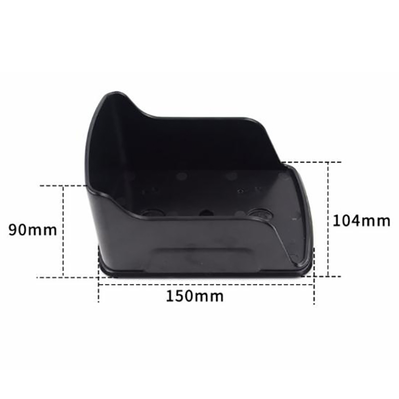 New Waterproof Cover For Metal Access Control Keypad Rain Cover Black Shell Access Controller