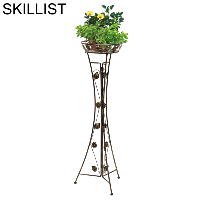 Decorative Garten Dekoration Rack Dekarosyon Decoration Terrasse Metal Afscherming Balcony Flower Balkon Balcon Plant Shelf