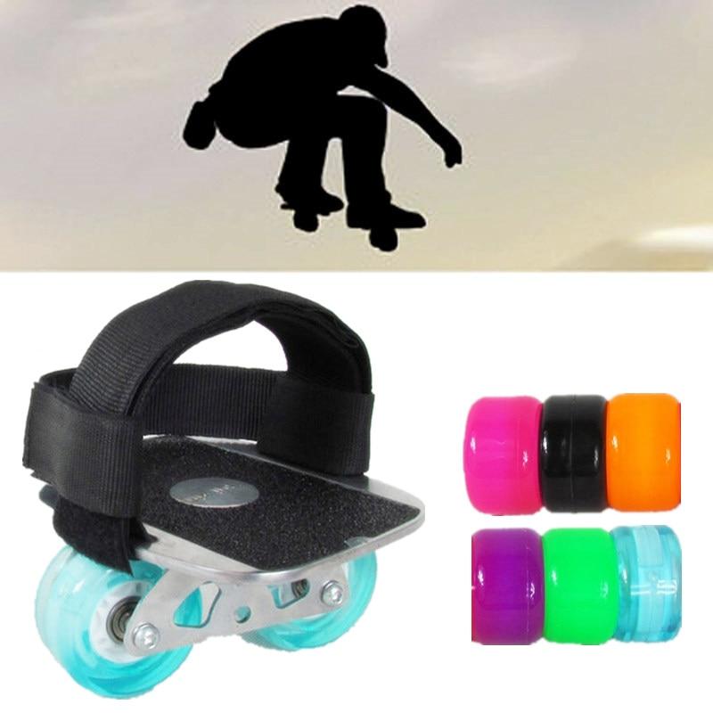 Professional Portable Driftboard With Foot Bandage Aggressive Feet Band Drift Board Freeline Drifting Separate Skateboard 1 Pair