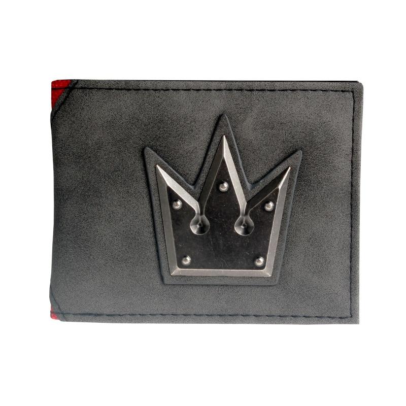 Kingdom Hearts Fashionable High Quality Men's Wallets Designer New Purse Dft3186