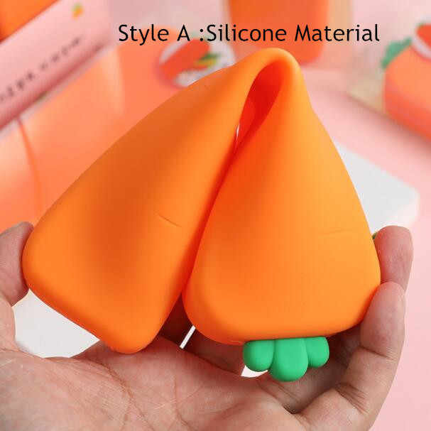 2020 Sharkbangแครอทสร้างสรรค์SeriesซิลิโคนดินสอPenholderกระเป๋าKawaiiชุดเครื่องเขียนเด็กวันเกิดของขวัญ