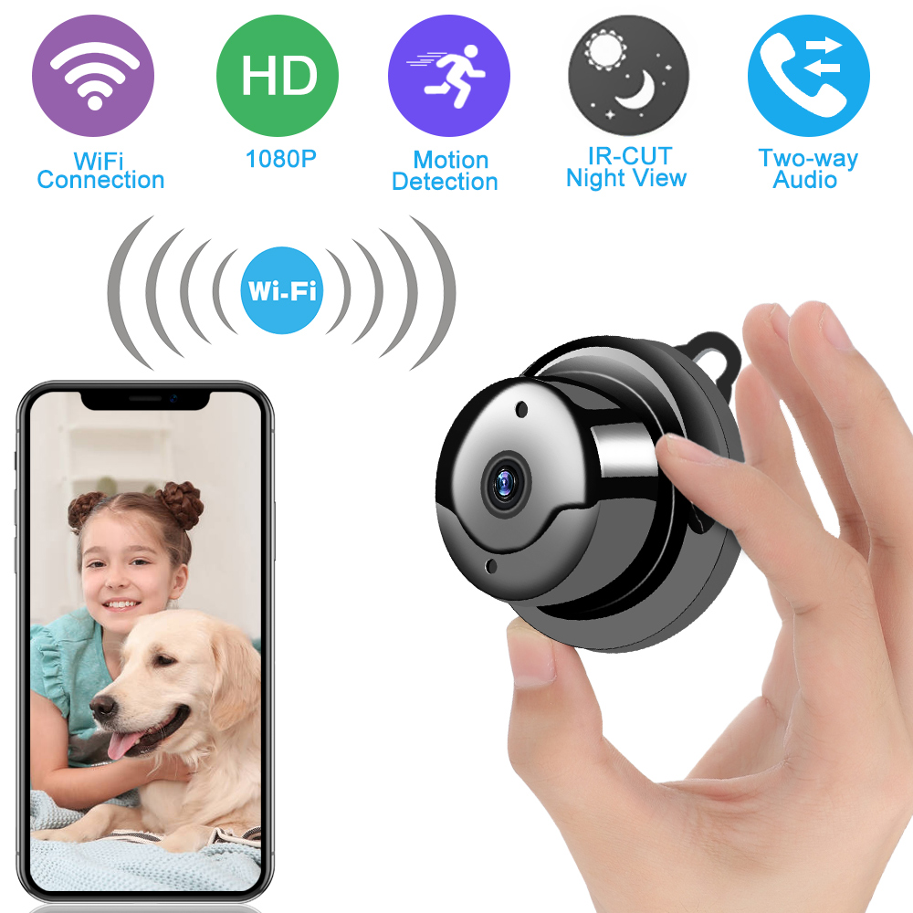 Wireless Mini IP Camera 720P/1080P HD IR Night Vision Micro Camera Home Security Surveillance WiFi  Baby Monitor Camera