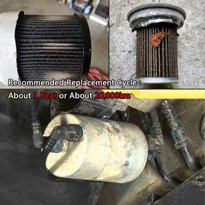 Image 3 - 8E0201511G 8E0201511C سيارة البنزين الغاز مرشح الوقود لأودي A4 أفانت للتحويل 8E 8H B6 B7 مقعد Exeo ST 1.8T 2001 2002 2003 2004