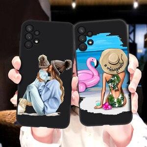 Image 4 - สำหรับ Samsung A32กรณี Super Mom ทารกหญิงสำหรับ Samsung Galaxy A32 4G Funda SamsungA32 A 32 A325F กันชน