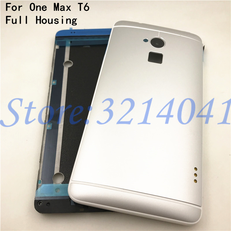 Full Housing For HTC One Max T6 809d 803s 8088 Top Bottom Cover Middle Frame Battery Door Back Cover Housing Case Repair parts