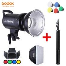Godox SL60W LED Video Light SL-60W 5600K White Version Video Light Continuous Light Bowens Mount for Studio Video Recording
