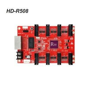 Image 4 - Huidu HD R5018 HD R508 풀 컬러 수신 카드 작동 HD C15C C35C A3 HD T901