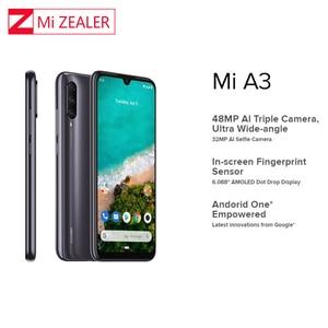 Image 3 - Мобильный телефон Xiao mi с глобальной версией, mi A3, mi A3, 4 Гб, 128 ГБ, смартфон, 4030 мАч, 6,088 дюйма, Восьмиядерный процессор Snapdragon 665, AMOLED экран