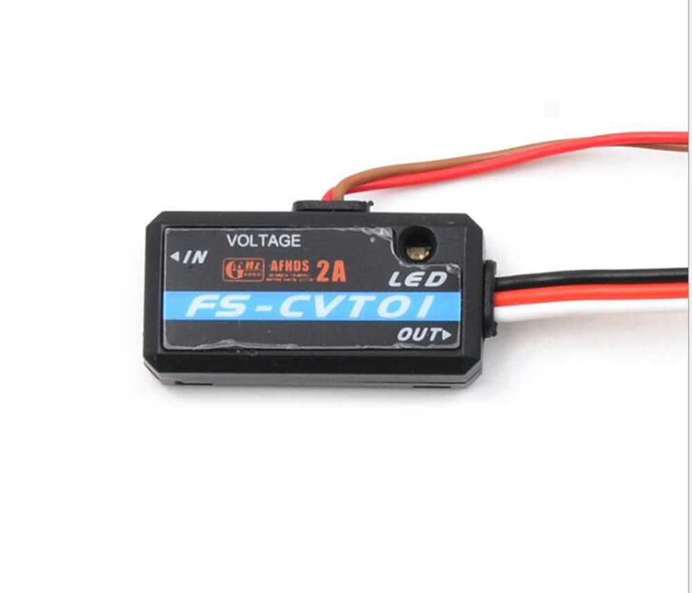 Flysky 2.4G FS-CVT01 Voltage Sensor Telemetry Data Module For FS-iA6B IA10 IBUS