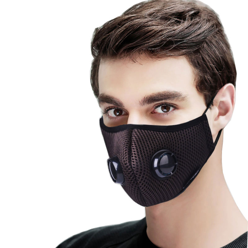 Anti Pollution Mask Air Filter Activated Carbon Mouth Face Mask ...