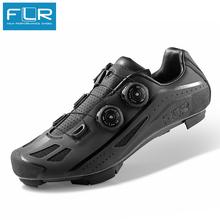 FLR oddychające obuwie rowerowe mtb carbon zespół rajdowy buty MTB mountain bike trampki profesjonalne buty samoblokujące F95X tanie tanio Dla dorosłych Buty rowerowe Syntetyczny Średnie (b m) Z włókna węglowego Slip-on F-95 Pasuje prawda na wymiar weź swój normalny rozmiar