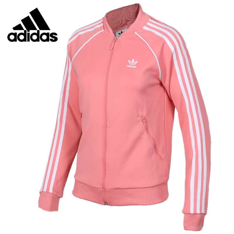 Original Adidas SST TT Womens Ourdoors Sports Long Sleeve Tops Round Collar Thick Warm Winter Down Jacket DH3162