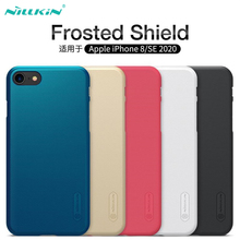 For iPhone SE 2020 Cases For iPhone 8 Cover Nillkin Super Frosted Shield Hard PC Back Cover Protector Case for iPhone 8 Plus