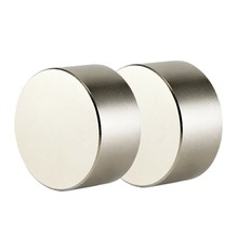 2Pcs Neodymium Magnet N52 40X20 Mm Super Strong Round Rare Earth Powerful Ndfeb Gallium Metal Magnetic Speaker(China)