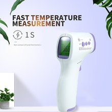 2021 Forehead Body Non-Contact Thermometer Infrared Thermometer Baby Adults Outdoor Home Digital Infrared Fever Ear Thermometer
