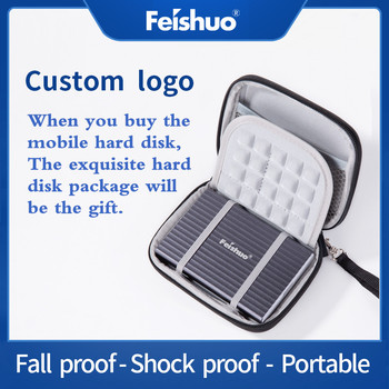 Private customization External Hard Drive Storage 320G 500G USB3.0 1TB 2TB 750G HDD Portable External HD Hard Disk Custom LOGO