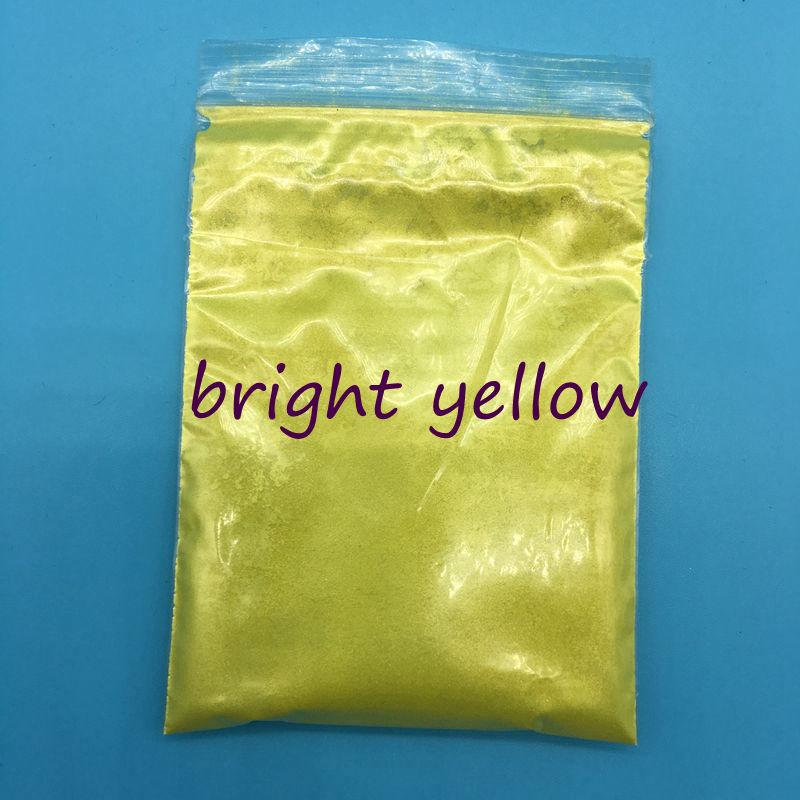 Bright yellow_