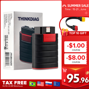 2020 Thinkdiag PK as easydiag full system OBD2 Diagnostic Tool think easy diag OBDII Code Reader 16 reset services pk AP200 golo(China)