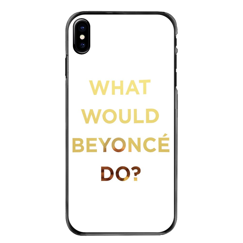 Cell Phone Case Cover Luisa Omielan What Would Beyonce Do For iPhone 11 Pro iPod Touch 4 4S 5 5S 5C SE 6 6S 7 8 Plus X XR XS MAX image