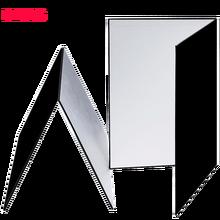 58*42 см аксессуары для фотосъемки, складной картонный Белый Черный Серебристый отражатель, поглощающий светильник, плотная Светоотражающая бумага